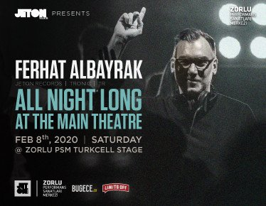 "Ferhat Albayrak ""All Night Long"""